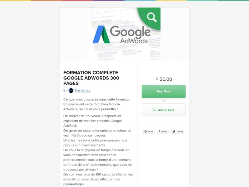 formation pro google adwords