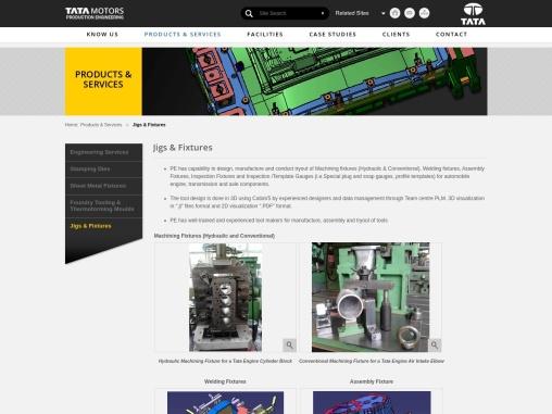Tata Motors PED – Jigs & Fixtures