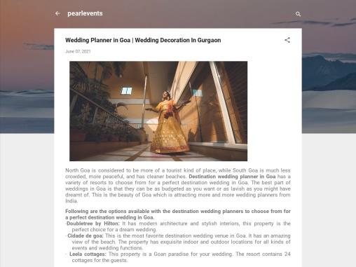 Wedding Planner in Goa | Wedding Decoration In Gurgaon