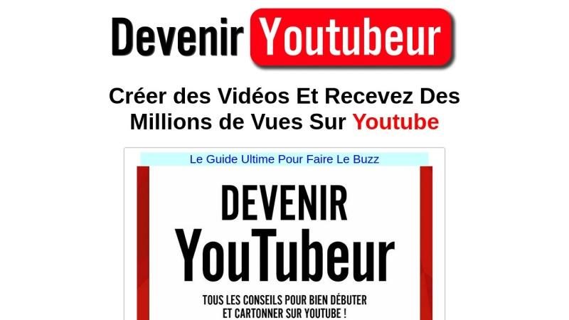 comment devenir un youtubeur a succes