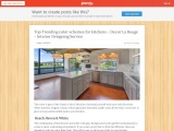 Best Classic Trending Color Scheme For kitchens – Interior designing Service
