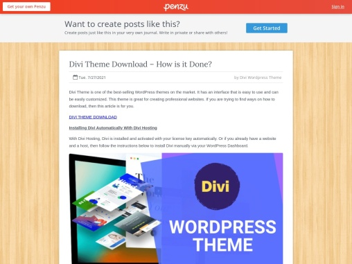 Divi Theme Download – How is it Done?