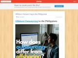 Offshore Outsourcing to the Philippines