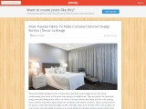 Decor La Rouge – Most Popular Fabric To Make Curtains – Interior Design Agency