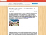 Vegas pool parties reopening – How to do Booking of the pool party in Las Vegas