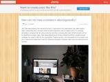 Penzu- How can I increase ecommerce sales organically?