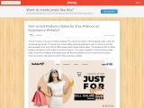 Penzu- How to Sell Products Online for Free Without an Ecommerce Website?
