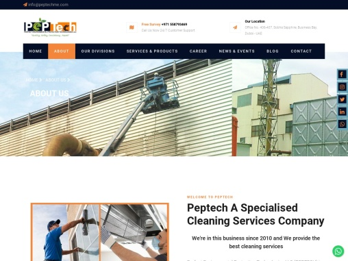 Top  Facility Management & Specialised cleaning Service Provider in UAE