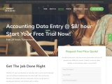 Accounting Data Entry Services @$5/ hour florida