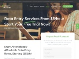 Affordable Data Entry Costs, Starting at $5/hour