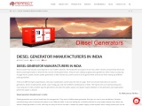 Diesel generator manufacturers in India |Generators in India|Generator companies in india