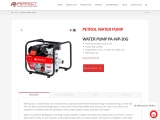 Petrol water pump available in India