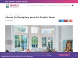 4 Ideas for Designing Your Art-Centric Room