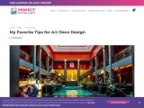 My Favorite Tips for Art Deco Design