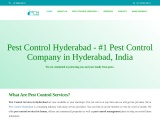 Termite control services in Hyderabad