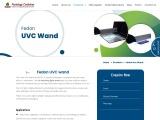 UV Sanitizing | UV Light Sanitizer Wand | Pestology Combines