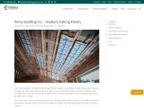 Petra Building Inc – Radiant Ceiling Panels