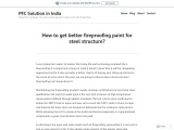 How to get better fireproofing paint for steel structure?