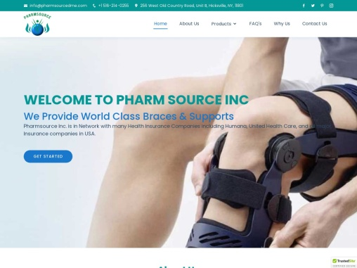 Braces and Supports for Joint Pains | PharmSource Inc