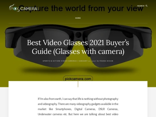 Best Video Glasses 2020 Buyer's Guide (Glasses with camera)