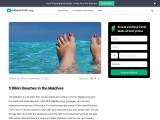 5 Bikini Beaches in the Maldives