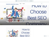 How to Choose the Best SEO Company in Toronto