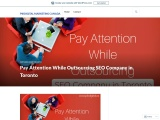 Pay Attention While Outsourcing SEO Company in Toronto