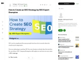 How to Create an SEO Strategy by SEO Expert Brampton