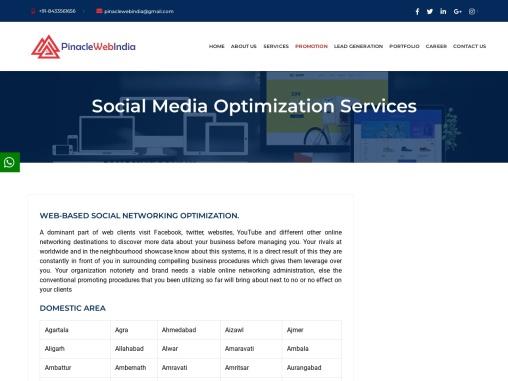 Social Media Optimization, Social Media Optimization Services in Mumbai