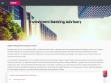 mergers and acquisitions advisory firms