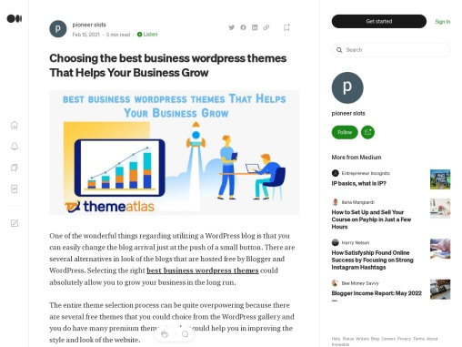 Choosing the best business wordpress themes That Helps Your Business Grow