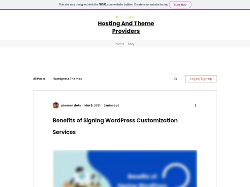 Benefits of Signing WordPress Customization Services