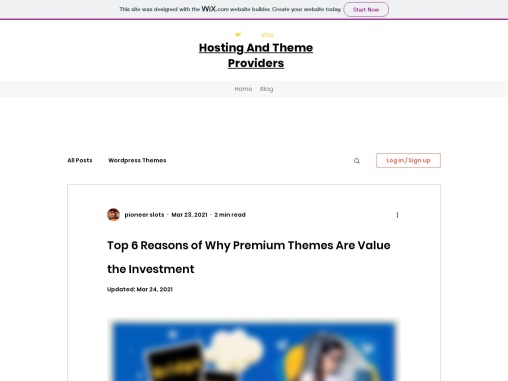 Top 6 Reasons of Why Premium Themes Are Value the Investment