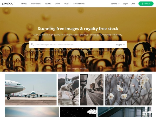 Pixabay - 100% Free Copyright Images Sites with No Attribution required
