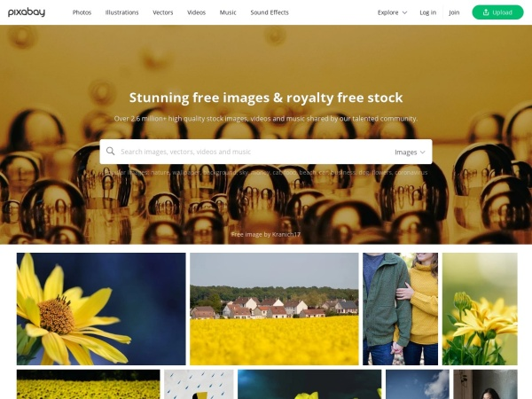 Pixabay - 15 Free Website for Quality Free Copyright Images 2020