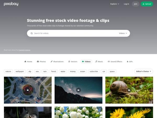 Pixabay - 15 Best Websites to Download Free Stock Footage (2020)