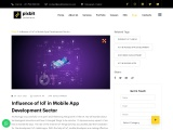 Influence of IoT in Mobile App Development Sector