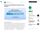 1-909-242-8633 Bellsouth Customer Service Phone Number