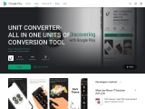 UNIT CONVERTER-ALL IN ONE UNITS OF CONVERSION TOOL – Apps on Google Play