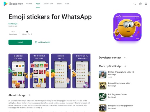 Emojis stickers for whatsapp iphone android free