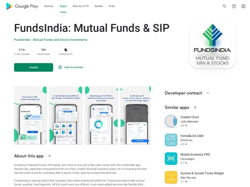 FundsIndia  –  Mutual Funds, Stocks, Demat, SIP