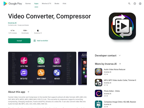 - 10 Best Video Compressor App for Android 2020