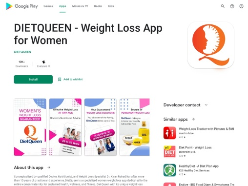 DietQueen – Lose Weight App for Women