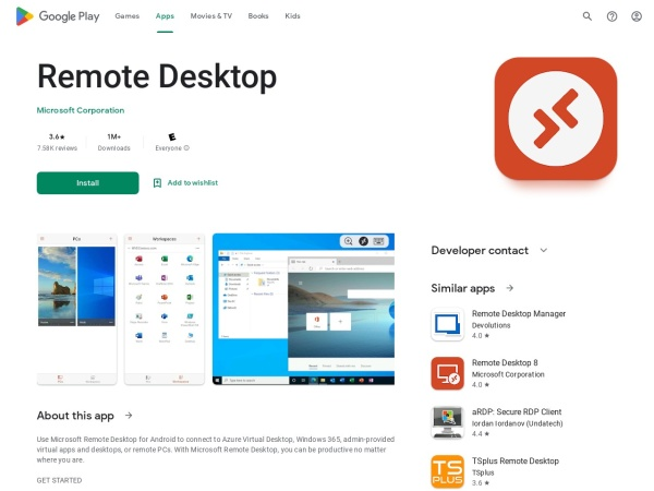 Microsoft remote desktop - 15 Best Office App for Android and iOS (2020)