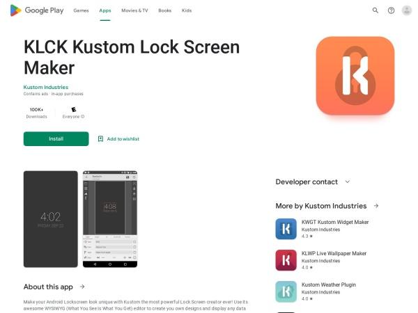 Kustom lock screen maker - 12 Best Lock Screen Apps for Android (2020)