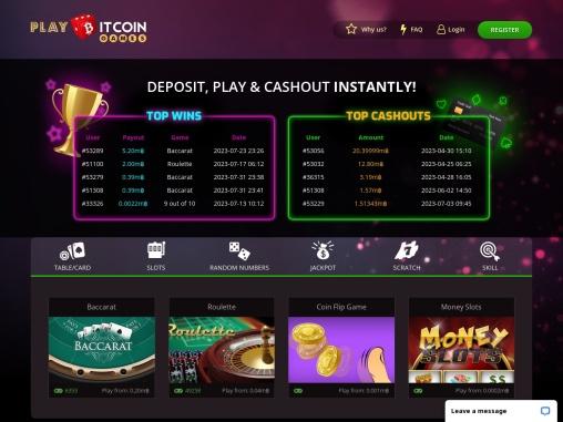 Bitcoin Games | Best Bitcoin Casino