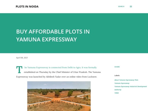 Buy office space in Plots In Yamuna Expressway