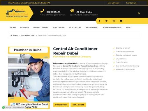 Central Air Conditioner Repair United Arab Emirates
