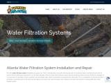 Atlanta Water Filtration System Services | Plumber Atlanta