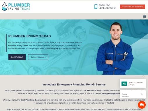 Best Plumbing Contractors irving TX